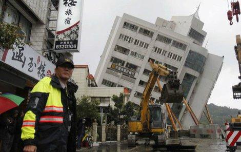 Zemětřesení těžce poničilo město Chua-lien.