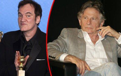 Tarantino (vlevo) doplatil na svá slova.