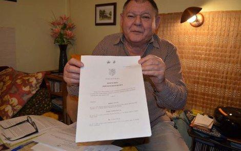 Soud seniorovi přiřkl půlmilionové odstupné. Jaroslav Pulec dostal jen necelých šest tisíc.