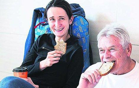Martina i její trenér Petr Novák mají pořádný hlad po triumfu.