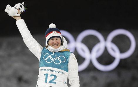 Šťastná Veronika Vítková se dočkala. Má první velkou individuální medaili.