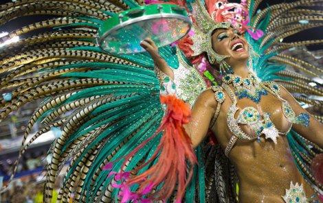 Karneval v Riu - Málo oblečení, hodně samby.