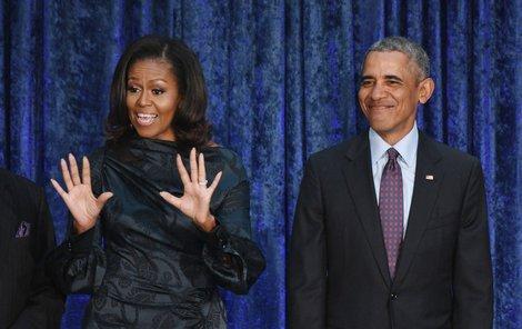 Barack a Michelle Obama