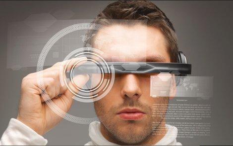 V budoucnosti prý budou lidé používat místo počítače speciální brýle.