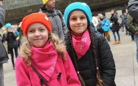 Zuzanka a Amélie jsou kamarádky. Obě si prošly stejnou nemocí.