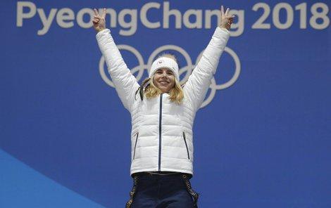 Ester Ledecká je jedním z největších překvapení celých olympijských her
