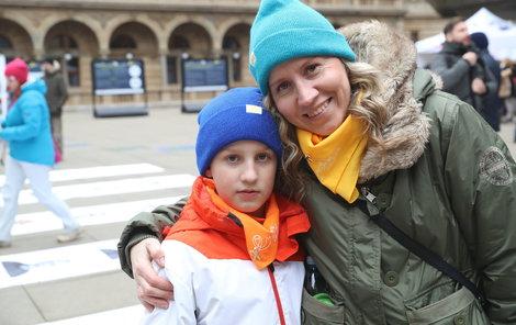 Maminka Dana bojovala se synem Jendou proti rakovině, když byl ještě miminko.
