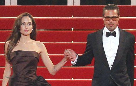 Angelina: Nepustím tě za ní! Žili spolu celkem 12 let, z toho 2 roky jako manželé.