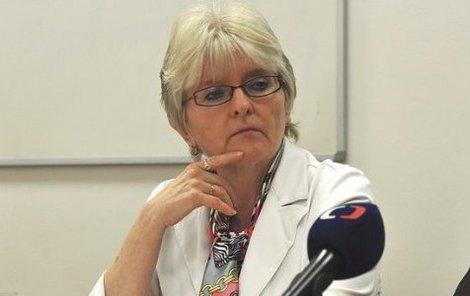 Šéfka Státního zdravotního ústavu Jitka Sosnovcová rezignovala.
