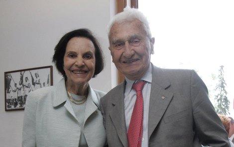 Sonja a Tomáš Baťovi.