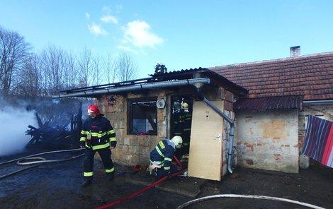 Děti zapálily dům