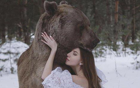 Nejradši má Štěpán medvědí objetí.