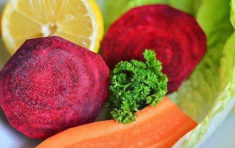 Řepa a jiné vitamíny