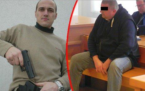 Viktor Ujčík (45) poprvé použil bouchačku