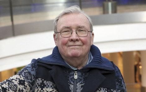 Rudolf Jelínek alias major Hradec slavil 83. narozeniny