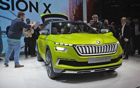 Revoluční Škoda Vision X
