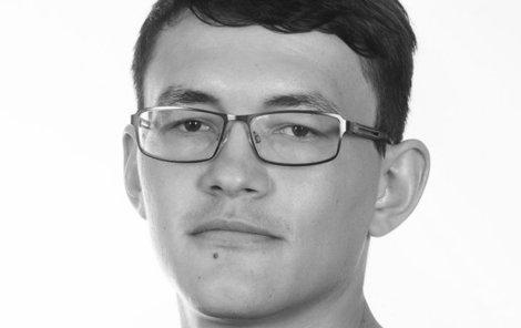 Zavražděný Ján Kuciak (†27)