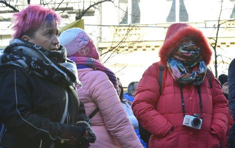 V únoru dorazily arktické mrazy...