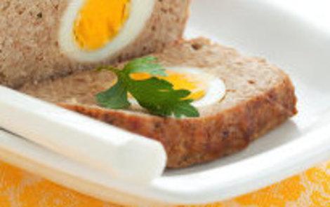 Sekaná s vařenými vejci