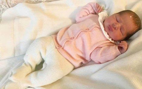Nový přírůstek švédské královské rodiny, dcera princezny Madeleine.