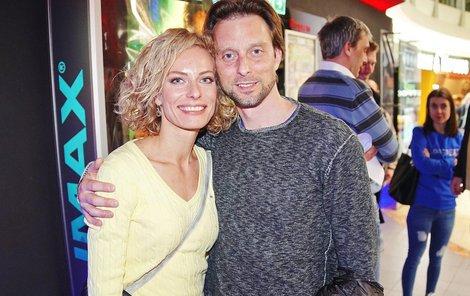 Kristina s Vaškem, bez kterého nyní neudělá ani krok.