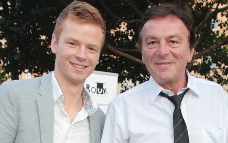 Pavel Dytrt s tátou Pavlem Trávníčkem