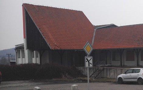 Bývalý motorest je ostudou Záhoří.