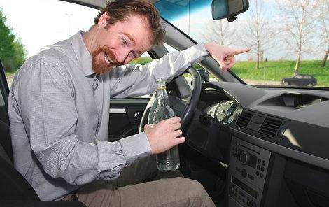 Řidiči, vyhněte se alkoholu!