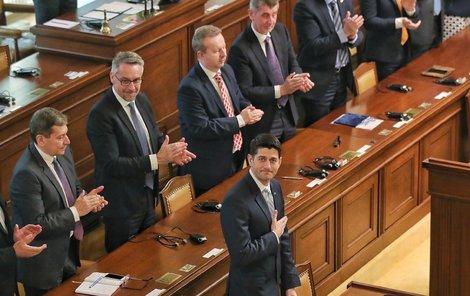 Šéf Sněmovny reprezentantů Paul Ryan.