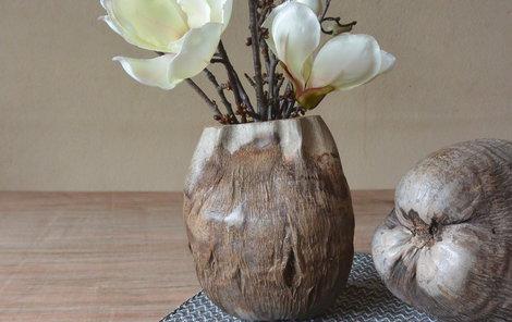 Váza z kokosu