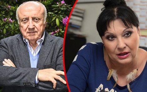 Dagmar Patrasová i Felix Slováček by rozvodem přišli o majetek.