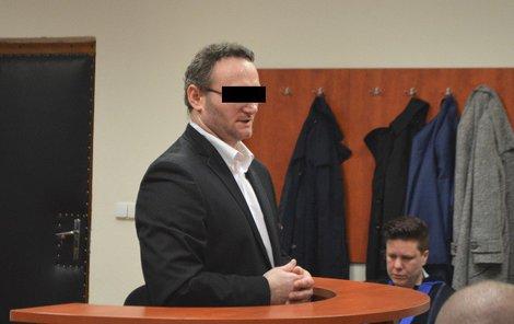 Petr B. u soudu prohlásil, že se snažil zabránit zločinu.