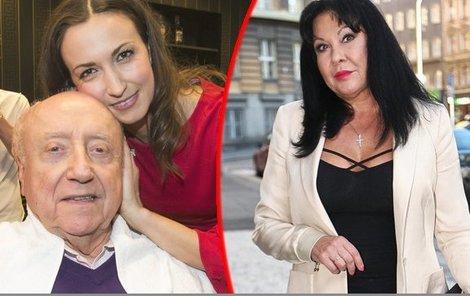 Partnerka Felixe Slováčka by si vše chtěla vyříkat s jeho manželkou.