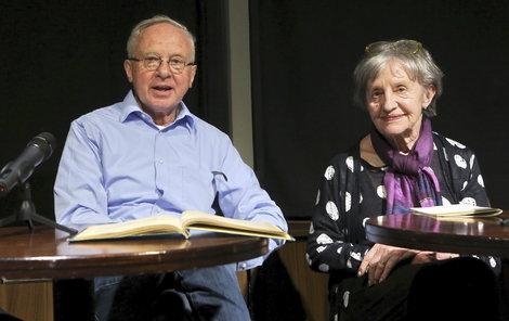 Nina Divíšková a Vladimír Pucholt