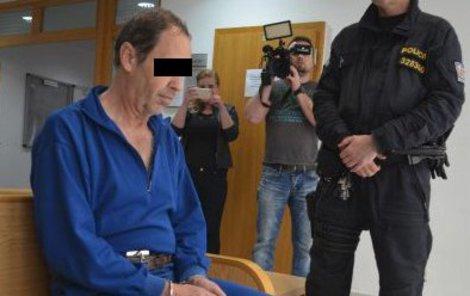 Rostislav K. u soudu.