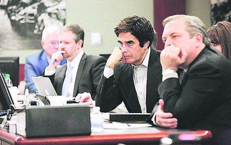 Copperfield u soudu vinu odmítá.