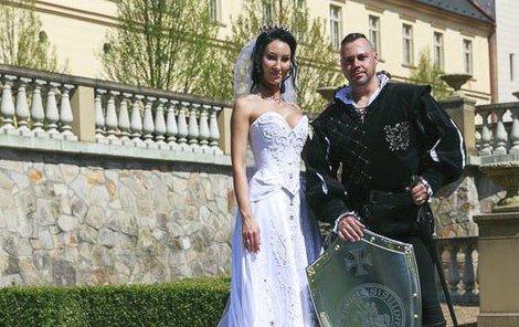Tomáš Ortel se oženil na zámku Zbiroh