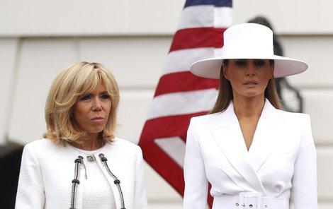 První dáma Francie promluvila o první dámě USA.