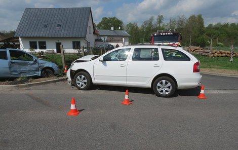 Takto auto dopadlo po nehodě.