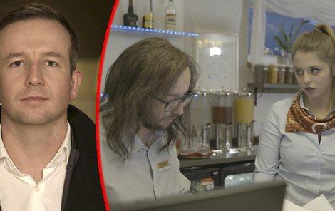 Utajený šéf nabídl recepční Báře post ředitelky hotelu.