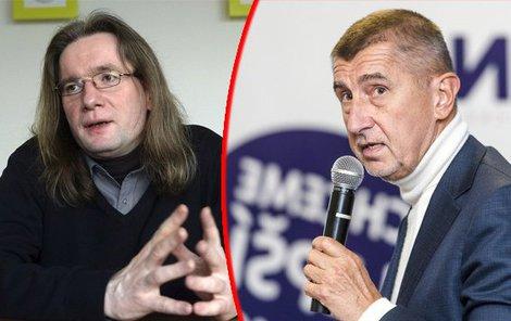 Politolog Mlejnek, Andrej Babiš.