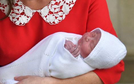 William a Kate zvolili tradiční, ale vzácnější jméno.