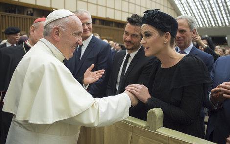 Setkání s papežem.