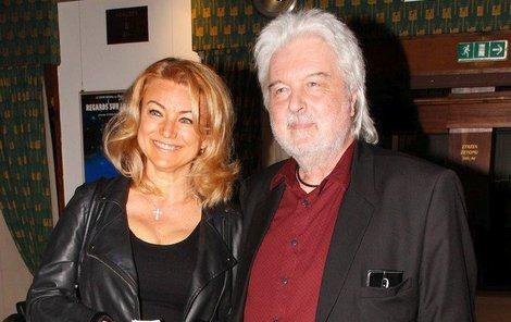 Eva Vejmělková a Dušan Rapoš