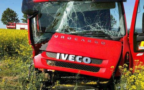 Příčina nehody není zatím známa.