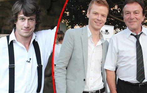 Martin Kraus (vlevo) má už teď z role prince pěknou trému.