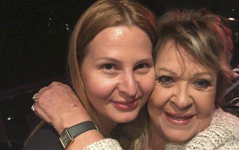Jiřina Bohdalová a Ivana Gottová
