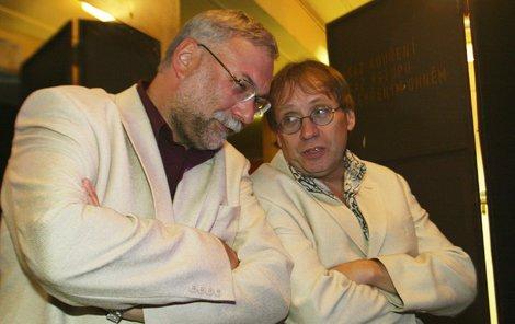 Dvojici bavičů Josefa Mladého s Josefem Náhlovským všichni milovali.
