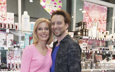 Kristina Kloubková s partnerem.