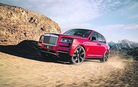 Rolls-Royce si rád hraje s detaily a v interiéru Cullinanu je to vidět.